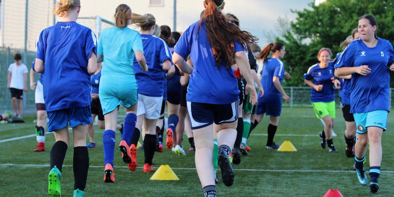 Weer open training vrouwen & meiden