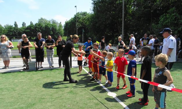 Pannaveld officieel geopend