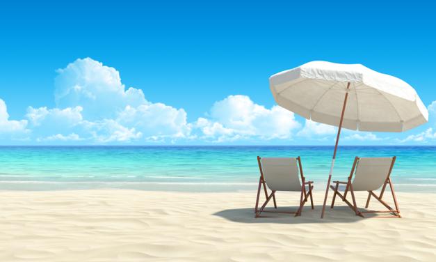 Webmaster op vakantie