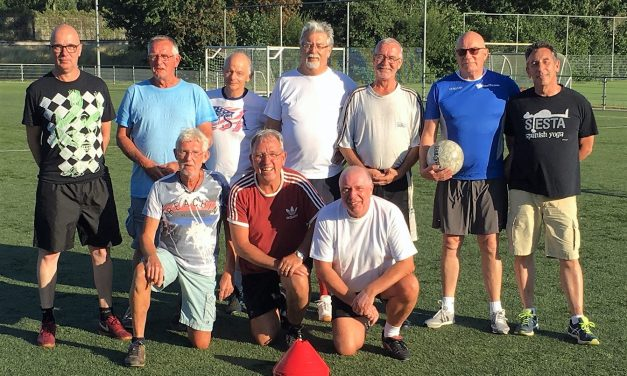 Dordts Walking Football bolwerk!