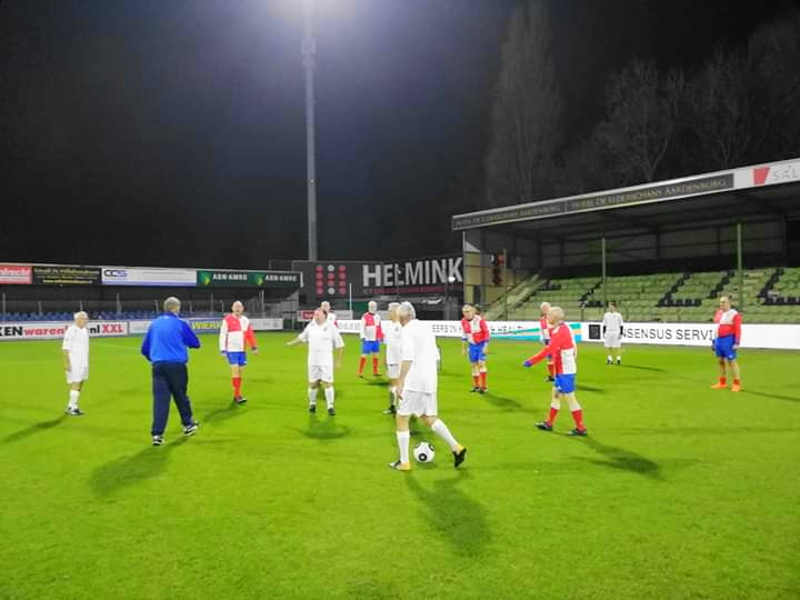 Walking Footballers kloppen Telstar